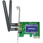 WLAN PCI-карта Wi-Fi сетевой адаптер 802.11n 300 Мб