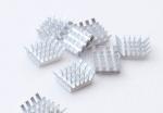 10x Алюминиевый мини-радиатор 14х13х6 мм, клейкий