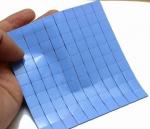 10x Термопрокладка под радиатор 15х15х1 мм, силикон