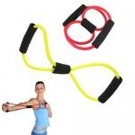 Эспандер восьмерка из латекса для фитнеса и йоги
