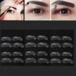 Трафареты для макияжа, коррекции бровей, 24 шт
