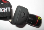 Фонарь TK27 (CREE) на голову на батарейках AAA