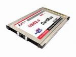Компактный PCMCIA адаптер на 2 USB 2.0 порта, хаб