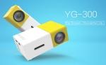 Портативный видеопроектор LCD-проектор UC28, 60''