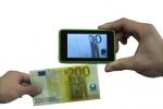 Портативный мини ИК-детектор валют бумаг с экраном
