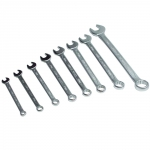 Набор из 8 стальных комбинированных гаечных ключей