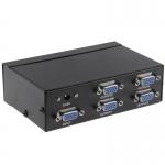 VGA сплиттер, разветвитель на 4 порта 250 МГц 30 м
