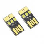 USB микро LED светильник, фонарь, 0.2Вт