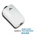 Тихий одноканальный компрессор UP G-057-S