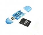 USB SD MMC SDHC кардридер