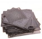 Набор из 50 BGA Intel трафаретов для ноутбуков