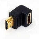 HDMI мама - папа угловой адаптер переходник 90 градусов