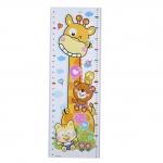 Ростомер, наклейка на стену жираф и мартышка
