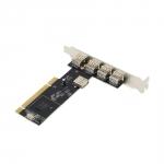 Контроллер PCI переходник на 5 USB 2.0 портов