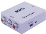 Конвертер AV, RCA (композитный видеосигнал) в HDMI