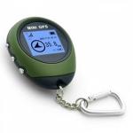Карманный мини GPS-навигатор, брелок, 16 точек
