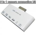 6 в 1 HDMI AV Camera Kit для Ipad, USB-кардридер