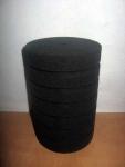 Фильтр -губка серая мелкопористая круглая  d10х15см