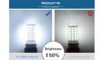 Светодиодная лампа LED E27 smd 5733, Foxacon 108 диодов 8 Ватт