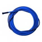 Канал-спираль синего цвета