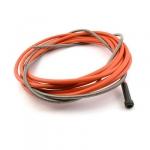 Канал-спираль красного цвета