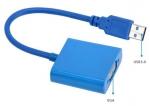 USB3.0 в VGA адаптер