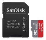Карта памяти MicroSD 32ГБ кл10 Sandisk Ultra Class 80МБ/с