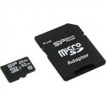 Карта памяти MicroSD 32ГБ кл10 Silicon Power Elite Color
