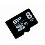 Карта памяти MicroSD 8ГБ кл10 Silicon Power