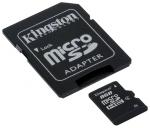 Карта памяти MicroSD 8ГБ кл4 Kingston