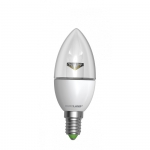EUROLAMP LED Лампа ЭКО серия D CL прозрачная 6W E14 3000K