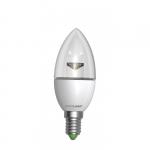EUROLAMP LED Лампа ЭКО серия D CL прозрачная 6W E14 4000K