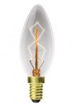 EUROLAMP ЛОН свеча ArtDeco 40W E14 2700K dimmable