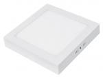 LED cветильник квадратный накладной Downlight NEW 18W 4000K