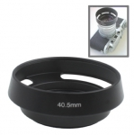 Бленда вентилируемая 40.5мм, металл, Leica, черная