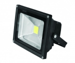 EUROELECTRIC LED Прожектор COB чёрный 50W 6500K classic