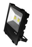EUROELECTRIC LED COB Прожектор чёрный с радиатором 100W 6500K modern