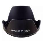 Бленда диаметр 67 мм, лепестковая Canon Nikon