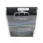 Ультрафиолетовый UV-MC фильтр 55 мм CITIWIDE