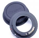 Адаптер переходник M42 - Canon EOS + крышка
