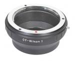 Адаптер переходник Contax/Yashica CY - Nikon 1 J1 Ulata