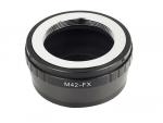 Адаптер переходник M42 - Fujifilm X FX, кольцо Ulata