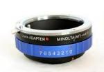 Адаптер переходник MA Sony AF - Micro 4/3, синий Ulata