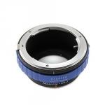 Адаптер переходник Nikon G - Micro 4/3 синий Ulata