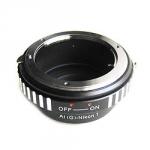 Адаптер переходник Nikon G - Nikon 1 J1, кольцо Ulata
