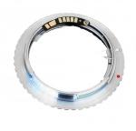 Адаптер переходник Olympus OM - Canon EOS, AF чип Ulata
