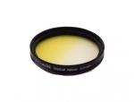 Цветной фильтр 52мм желтый градиент, CITIWIDE