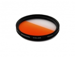Цветной фильтр 55мм оранжевый градиент, CITIWIDE