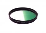 Цветной фильтр 67мм зеленый градиент, CITIWIDE