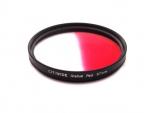 Цветной фильтр 67мм красный градиент, CITIWIDE